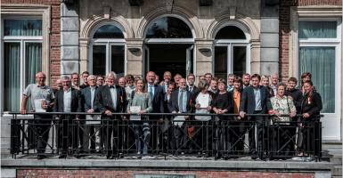 Photo de groupe Mérites wallons 2019